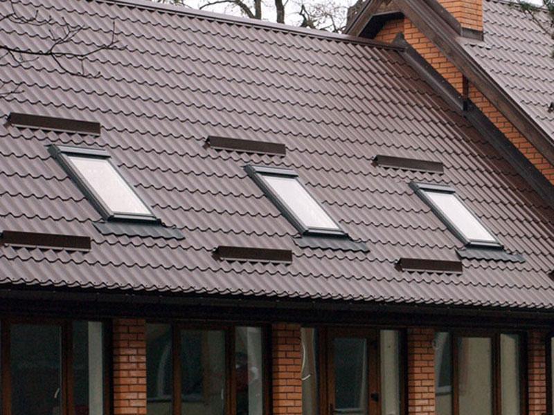 Пластиковые мансардные окна