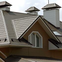 Крыша с металочерепицей